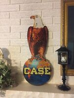 Reproduction Case Agency Eagle Laser Cut Out Sign 10x25 Old Abe the Eagle