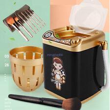 1PCS Mini Electric Washing Machine Children  Pre School Toy Wash Makeup Brushes