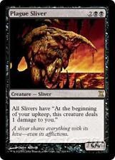 PLAGUE SLIVER Time Spiral MTG Black Creature — Sliver RARE