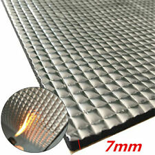 1m*1.4m Car Engine Noise Bonnet Acoustic Insulation Deadning Sound Proofing 7mm