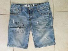 lotto 536 pantaloncini jeans pantalone bermuda Fred Mellod donna tg.42