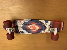 "Penny Board Australia 22"" Indian Print Skateboard Original Authentic"