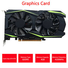 Desktop Graphics Card GTX970 4GB DDR5 128Bit Video Graphics Card Gaming CompuKTP