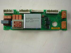 Genuine used Miele Electronic unit EL200C 220-240V- for W800-W900 w/machines