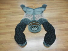 Super Fine Hand Made Veg Dye Hunting Gorilla Turkish Rug 3x5