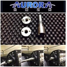"Aurora Off Road LED Light Bar Anti-theft Security Nut Kit (1/4"" Course Thread)"