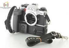 Excellent!! Leica R4 35mm SLR Film Camera Silver + Motor Drive R from Japan