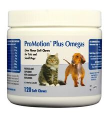 ProMotion Plus Omegas Soft Chews for Cats & Small Dogs (120 count)