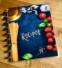 Food Recipes Front/Back Cover Set made for use with HAPPY Planner