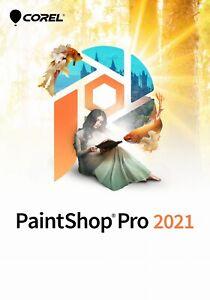 Corel PaintShop Pro 2021 - LEGAL 100% LIFETIME LICENSE PL