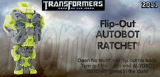 Flip-Out RATCHET figure/toy TRANSFORMERS 3  TF3  movie BK Burger King 2011 *NIOP