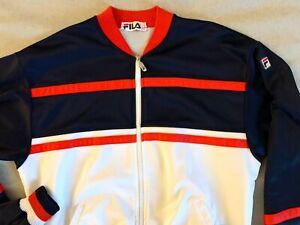 jacket vintage FILA 80' RARE! tg L raro