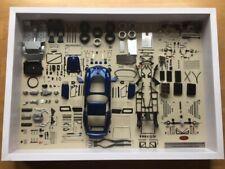 1:18 CMC A-023, Bauteile Display 1/200 Ferrari 250 GTO blau mit OVP