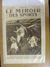 02/11/1926 le miroir des sports-Hebdomadaire Français Pictorial magazine: Nº 0342-F