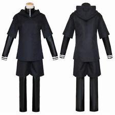 Japanese Anime Tokyo Ghoul Cosplay Party Costume Kaneki Ken Hoodie Jackets Suits