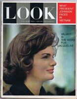 ORIGINAL Vintage Look Magazine January 28 1964 Jackie Kennedy JFK