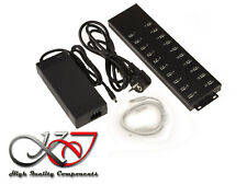 Hub Industrial/Charging Station USB 2.0 - 20 Ports - 96 Watts