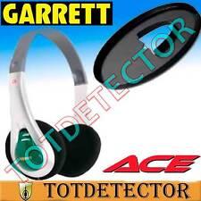 Auriculares y Protector de plato para  la Serie ACE de Garrett