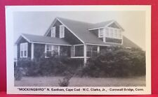 Postcard CT Cornwall Bridge N Eastham Mockingbird House WC Clarke Jr Cape Cod A6