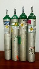Medical Oxygen Tank - Size E M24 - Compressed UN 1072  - Empty Cylinder - 4 Pack
