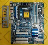 GigaByte GA-P55A-UD3R(Rev 2.0), LGA1156 P55 2x PCIE x16 USB3/SATA3 + IO Shield
