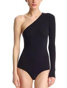 Commando Ballet One Shoulder Bodysuit Color Black One Size(25)