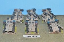 mechwarrior battletech dropzone commander 6 heavy tanks (15084) Fasa ral partha