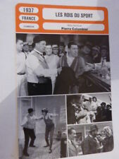 FICHE CINEMA,LES ROIS DU SPORT , PIERRE COLOMBIER, RAIMU , FERNANDEL, 1937
