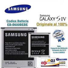 Batteria SAMSUNG originale EB-B600BE per GALAXY S4 GT i9500 GT i9505 2600 NFC