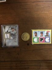 New listing Colorado Rockies 2 Card Relics: Story; Helton Etc. Please Read