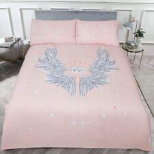 Rapport Women's Angelw BLSH Angel Wings Glitter Stars King Duvet Quilt Cover Bed