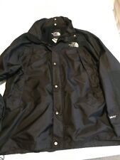 The North Face Mens XXL 2XL Gore-Tex Brown/Black Zip/Snap Button Jacket