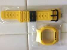 BRAND NEW RARE Casio G-Shock DW5000C/DW5600C/WW5100 Yellow Resin Band and Bezel