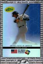 DEREK JETER 2009 eTopps World Baseball Classic YANKEES IN HAND SN #500/999