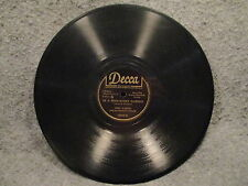 """78 RPM 10"""" Record Fred Waring The Bells Of St Marys In A Monastery Decca 18302"""