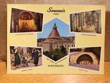 Israel Souvenir From Nazareth 1995 Postcard
