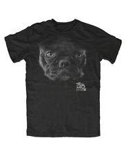 Bulldog francés t-shirt negra -- perro, Dog, French Bulldog