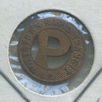 Pottstown Pennsylvania PA Pottstown Rapid Transit Transportation Token