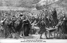 CPA Histoire de la Révolution - Serment du Jeu de Paume (20 Juin 1789)