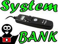 Telecomando Scatto elettronico temporizzato Remoto per NIKON D800 D800E D700