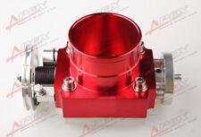80mm Universal Throttle Body CNC T6 Aluminum Red