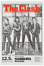 The Clash at Germany Tour  Concert Poster 1980 LARGE FORMAT 24x36