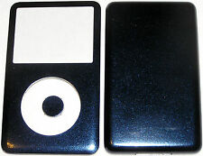 Apple Ipod Classic 6th, 7th Gen Custom Metallic Blue Colored Front/Back/Button