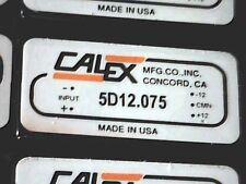 CALEX 5D12.075 Dual DC/DC Converter In: 5V Out: +/-12V 1,8W