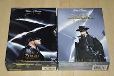 Lot 2 coffrets DVD ZORRO intégrales saison 1 et 2 - VF