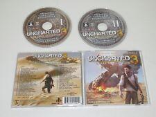 UNCHARTED 3 DRAKE'S DECEPTION/SOUNDTRACK/GREG EDMONSON(LLLCD 1190) 2XCD ALBUM