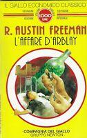 L'affare D'Arblay - Freeman - newton - il giallo economico classico 46 - 1994