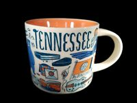 Starbucks Tennessee Been There Collection Ceramic Coffee Demitasse Ornament 2 oz