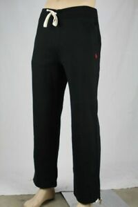Polo Ralph Lauren Black Fleece Sweatpants Red Pony NWT