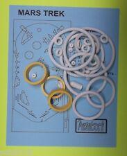 1977 Sonic Mars Trek pinball rubber ring kit